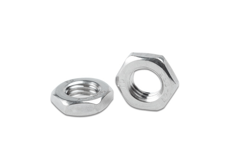 A2-70 hex thin nut