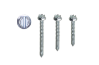 hex washer slotted tapping screw
